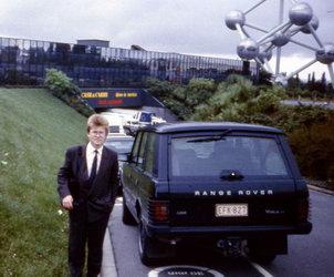 На Европейском конгрессе хирургов, Брюссель, 1992 г. Именно после представленных здесь видеоматериалов я получил приглашение для участия во Всемирном фестивале медицинского фильма