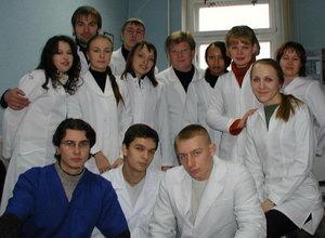 Фотография на память после окончания цикла занятий со студентами 5-го курса